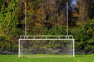 Combination Football/Soccer Goal