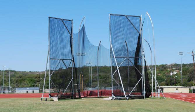 Discus, Hammer, and Shot Put Cages