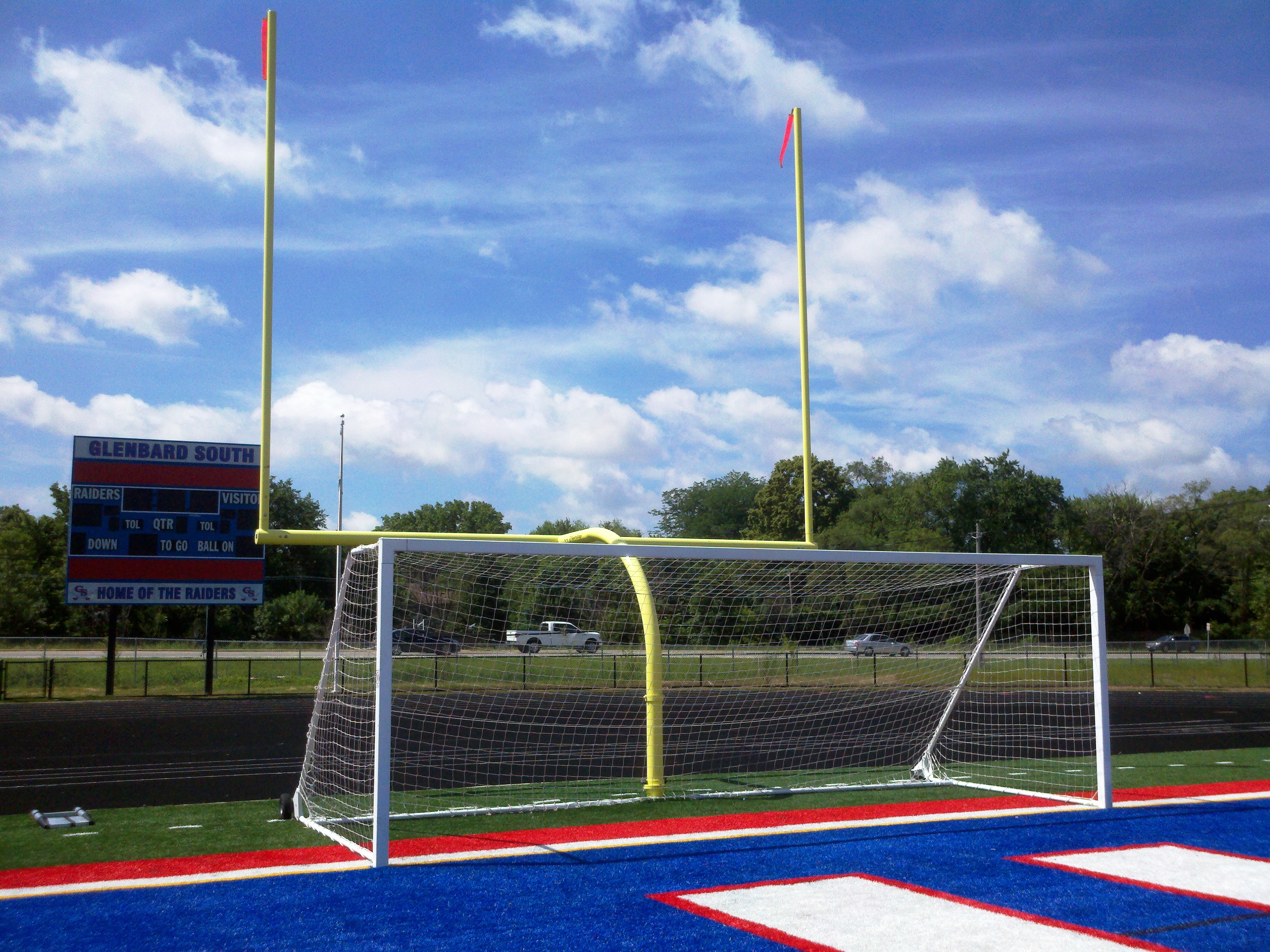 Professional Aluminum Soccer Goal Images - Frompo