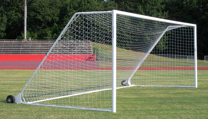Pro Aluminum Soccer Goal with Wheels
