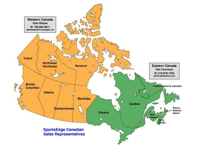 Canada Sales Rep Directory Map
