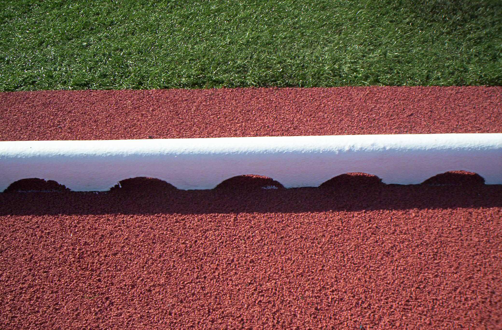 Rubber Track Curb Sportsedge